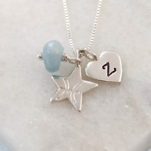 zodiac march gemstone pisces with aquamarine (1)