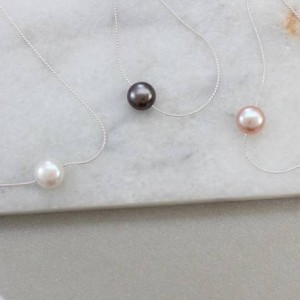 keimau-single-pearl-on-silver-necklace