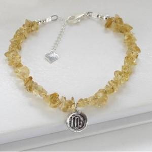 gemstone-bracelet-with-sterling-silver-zodiac-charm