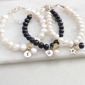 personalised-pearl-and-birthstone-cluster-bracelet-with-sterling-silver-charm