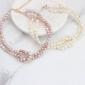 pearl-choker-necklace-with-love-knot-in-pink-or-white