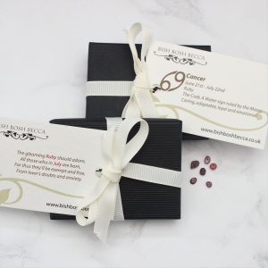 Standard gift wrap for Bish Bosh Becca Jewellery Gifts