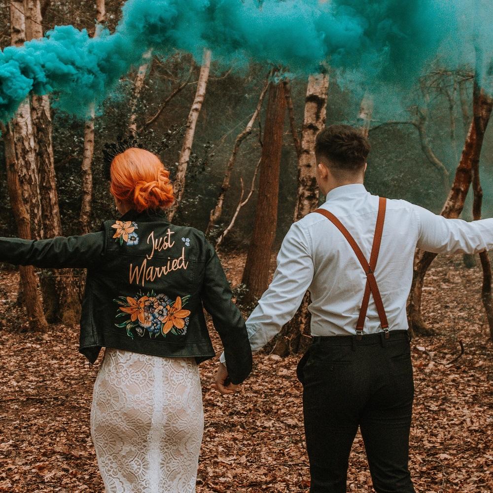 Woodland Ivy, ideas for an alternative wedding for a modern bride